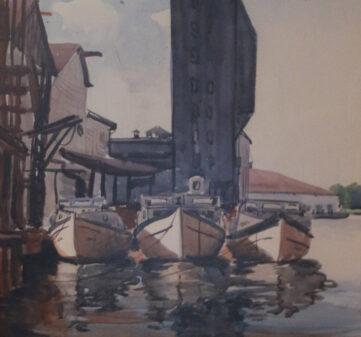 Three Perch Boats